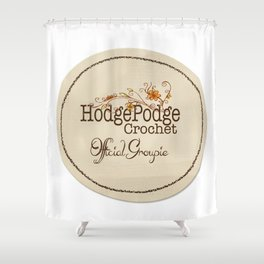 Groupie Fall Design Shower Curtain
