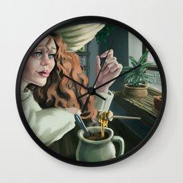 Fall Magic Wall Clock