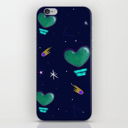 Cactus Space iPhone Skin