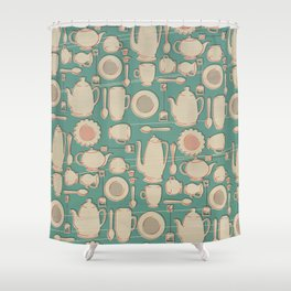 Tea Time! Shower Curtain