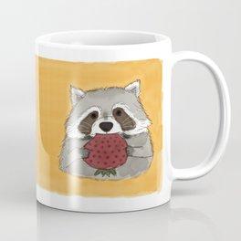 Strawberry Racoon Coffee Mug
