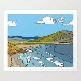 Donegal Art Print