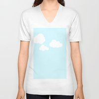 scandinavian V-neck T-shirts featuring Scandinavian Morning by Copenhagen Colors