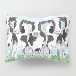A Field of Cows Pillow Sham