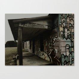 graffiti house Canvas Print