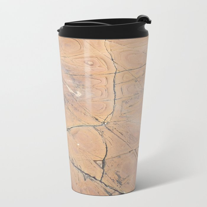 sea stone Metal Travel Mug