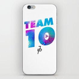 Jake Paul Waterdrop Team 10 JP iPhone Skin
