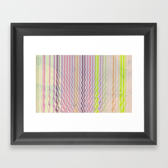 Paint Me Pretty Framed Art Print