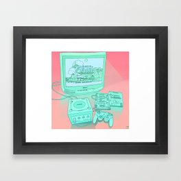Gamecube Framed Art Print