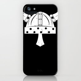 Viking Helmet iPhone Case