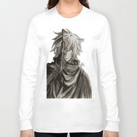 noir Long Sleeve T-shirts featuring Noir by OtakuRuki