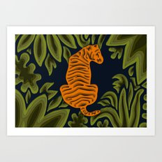Deep in the Jungle Art Print