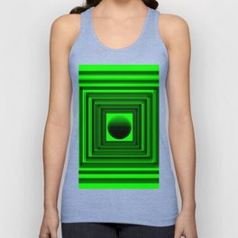Abstract Green 101 Unisex Tank Top