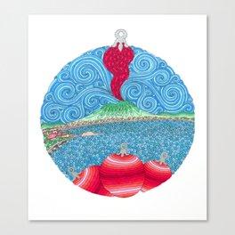 Christmas Ball Corno Canvas Print