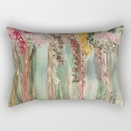 Woods in Spring Rectangular Pillow