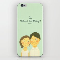 S&K Happy Wedding !! iPhone & iPod Skin