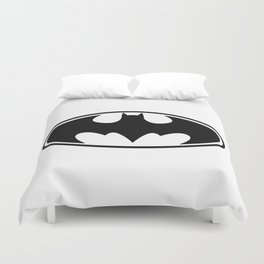 Bat Man Duvet Cover