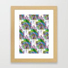 Maple Leaf Abstract Framed Art Print