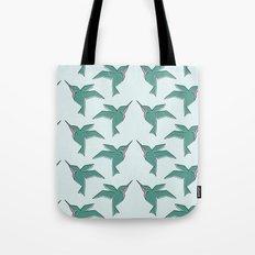 Origami Hummingbirds Tote Bag