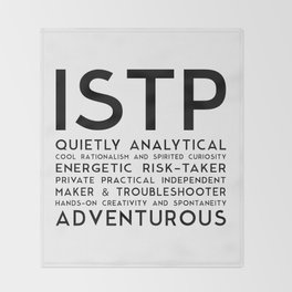 ISTP Throw Blanket