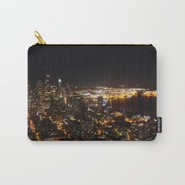 Seattle Night Lights - Great Wheel Carry-All Pouch