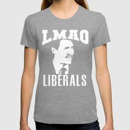 LMAO Liberals | Justin Pierre James Trudeau  T-shirt