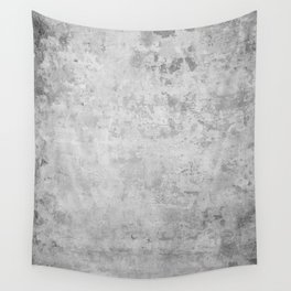 concrete wall vintage grey background,  wall texture * Wall Tapestry