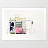 random Art Prints featuring Random by Anton Marrast