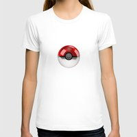pokeball T-shirts featuring POKEBALL by Graphic Craft