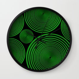 Green Copple Wall Clock