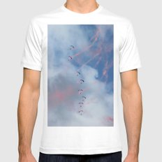Dropping in Mens Fitted Tee White SMALL