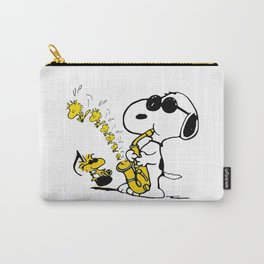 snoopy sing Carry-All Pouch