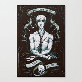 GET EVEN Canvas Print