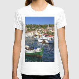 Hvar Green Boat T-shirt