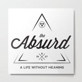 The Absurd Metal Print