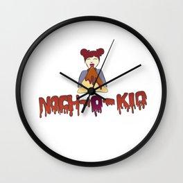 Nach-O-Kid Wall Clock