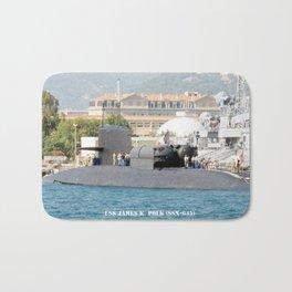 USS JAMES K. POLK (SSBN-645) Bath Mat