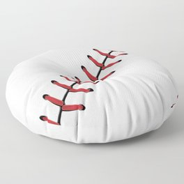Baseball Lace line Floor Pillow