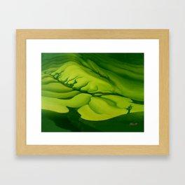 Green, Green ... Framed Art Print
