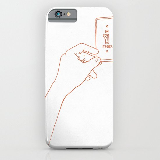 The Emotional Light Switch iPhone & iPod Case