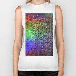 Rainbow Skin 3 Biker Tank