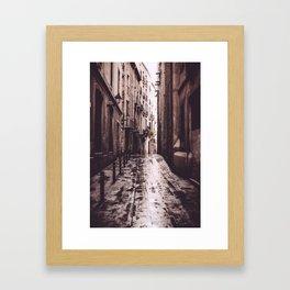 Gothic Quarter, Barcelona, Spain Framed Art Print