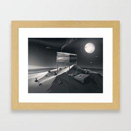 Welcome to Aspen Framed Art Print