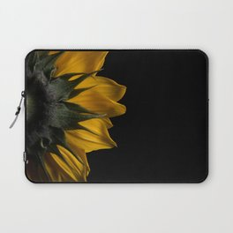 Backside of Sunflower Laptop Sleeve