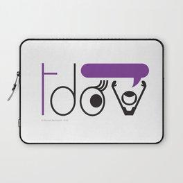 Transgender Day of Visibility Laptop Sleeve