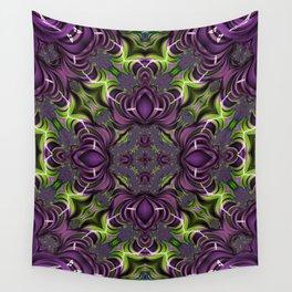 Acid Trip Fractal Kaleidoscope 2 Wall Tapestry