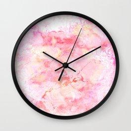 Marble Sunrise Wall Clock