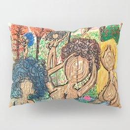 Lady Swirls and Curls Pillow Sham