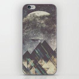 Sweet dreams mountain iPhone Skin