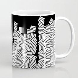 Minimalist black / White geometric Coffee Mug